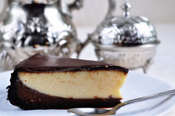 NY Cheese Cake de chocolate y caramelo
