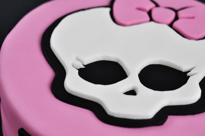 Tarta Monster High – Calavera