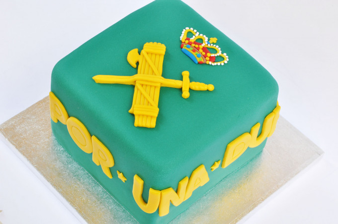 Tarta Emblema Guardia Civil