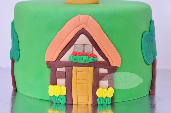 Tarta Animal Crossing Gandulio