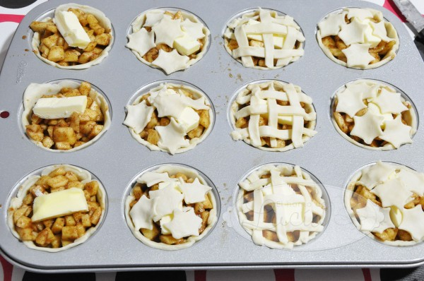 Mini apple pies molde cupcakes