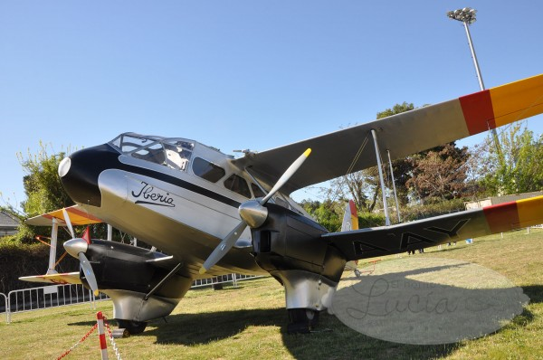 Avión Havilland DH89 Dragon Rapide