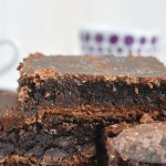 Brownie Fudge de chocolate (sin gluten y sin lácteos)