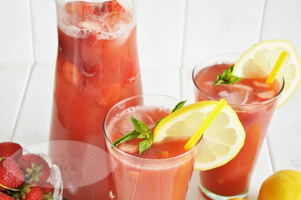 Strawberry limonade sugarfree